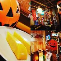 秋のおすすめデザート かぼちゃプリンもちろん食べ放題!