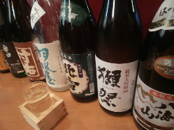 ドリンクが豊富!日本酒・焼酎・カクテル・生搾りサワーなどなど