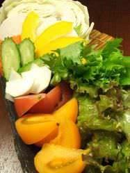 魚はもちろん、野菜にもこだわり! 「湘南地野菜」!