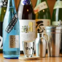 全国の日本酒を常時50種以上ご用意。今の旬はひやおろし!