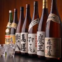 佐藤水産なら焼酎も相当な品揃えを用意しております。