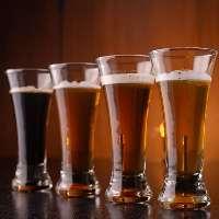 クラフトビールも各種ご用意しております。
