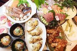 多彩な宴会コースをご用意♪ 料理2500円~ 飲み放題1200円~