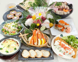 宴会コースは満足なボリューム&プライス!!