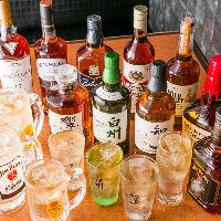 自慢のハイボールは20種以上!日本&世界のウィスキーを堪能!