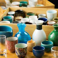 好みの日本酒を好きな酒器に注いで味わえる大人の愉しみ
