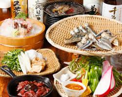 ぐるなび限定コース5,000円 季節の食材を使ったお得な料理
