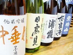 日本酒の種類により温度管理をしています