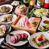 ◇ よくばりプラン肉も魚介もお好み焼きも◇3h飲放付で4000円