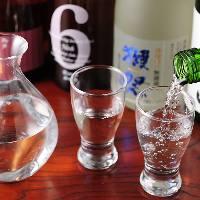 【日本酒10種以上】 なかなかお目に掛かれない希少銘柄もご用意