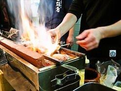 炭火で焼き上げた串は絶品