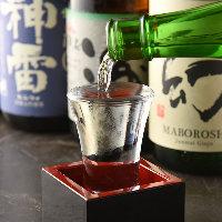 広島の地酒を豊富にご用意!入手困難な地酒もございます。