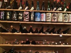 さて今日はどの日本酒を飲もうか。こだわって選んでます。