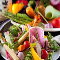 野菜・チーズを中心に洗練された色鮮やかなコースをご用意します