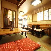 【1階テーブル席】 ゆったりと寛ぎ頂けるテーブルのお席。