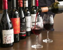 オーガニックやビオワインなど自然派ワインも豊富に取り揃え!