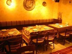 【店内】 ~ペルシャの雰囲気でゆったりと~立食パーティーも可