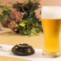 一日の疲れを癒す一杯目。だからこそ品質の良い極上のビールを…