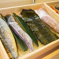 産地での締め方にまでこだわった魚を長年の経験で培った技で熟成