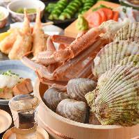 【宴会】 旬魚介が満載!トロハチ自慢の宴会コースをご用意