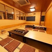2階団体様個室席。(~50名様)※カラオケ完備