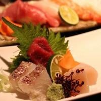 ■ 新鮮魚介 ■ 新鮮魚介類を使った料理の数々