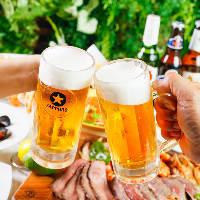 世界のビールも30種類以上取り揃えています♪