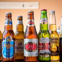 アジアンビールやワインサングリア等、充実のドリンクをご用意♪