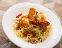 ナポリの高級乾麺『Voielo』使用!デュラム小麦の濃密な香り♪