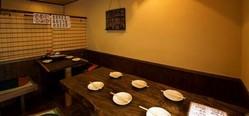10名様まで入室可能な個室風テーブル