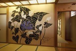 3F 最大60名様迄 木村英輝先生作/蕎麦の花が大迫力です♪