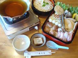 京風うどんすき 権太呂鍋