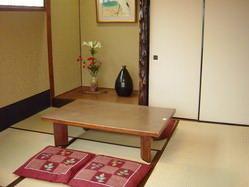 秋篠宮様ご来店の際、 お食事された当店2階小間。