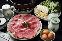 伝統と文化の味絶品のすき焼きコース 5,300円より各種