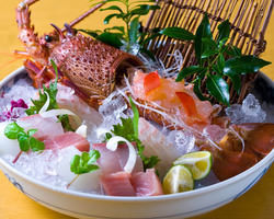 新鮮な魚はお刺身で・・・