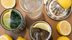 爽快な飲み口が人気のレモンサワーは3種類ご用意!