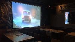 【宴会設備】 大型スクリーン、TVを設置。余興、演出にどうぞ
