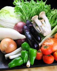 《旬の野菜》 京野菜を中心に、旬の野菜を仕入れています