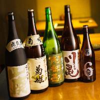 【地酒】 全国の蔵元より純米酒、純米吟醸酒を5本厳選