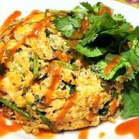 【トムヤム鍋】 魚介たっぷり♪野菜たっぷり♪パクチーたっぷり