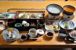 蕎麦会席(3日前迄に要予約)5,000円