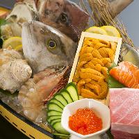 今日の仕入れは、今日使い切る!新鮮な食材がモットーです。