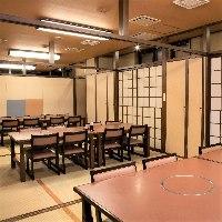 ◆座敷◆ 椅子席でゆったり32名様まで対応可