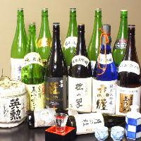 氷温貯蔵生原酒など、季節限定の玉乃光もご用意しております。