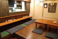 草津店。完全個室3部屋・座敷ご宴会最大25名様ご利用頂けます