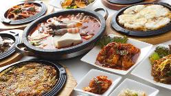 40種以上の韓国料理を食べ放題プランが人気♪飲み放題付もOK!