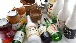 マッコリやソジュ、チャミスルなど韓国酒はお料理との相性抜群♪