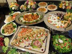 季節に応じた宴会メニュー♪お料理内容等ご相談ください。