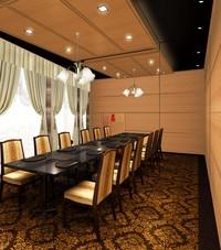 テーブル洋個室『講和』12名様までご利用いただけます。