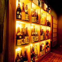 全国の選りすぐりの地酒 季節の肴と一献もおすすめですよ♪